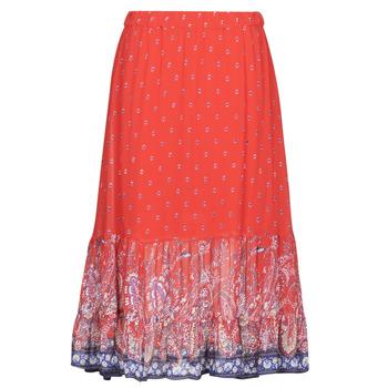 vaatteet Naiset Hame Cream NALITA Red