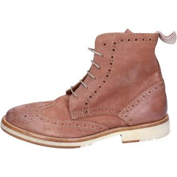 kengät Naiset Bootsit Moma Nilkkasaappaat BR943 Ruusu