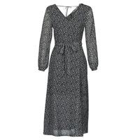 vaatteet Naiset Pitkä mekko Ikks  Black