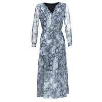 vaatteet Naiset Pitkä mekko Ikks BQ30285-44 Blue
