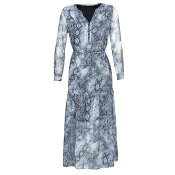 vaatteet Naiset Pitkä mekko Ikks BQ30285-45 Sininen