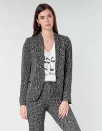 vaatteet Naiset Takit / Bleiserit Ikks BQ40025-03 Musta