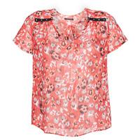 vaatteet Naiset Topit / Puserot Ikks BQ11145-37 Orange
