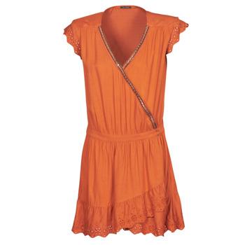 vaatteet Naiset Lyhyt mekko Ikks BQ30155-75 Orange