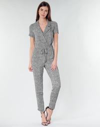 vaatteet Naiset Jumpsuits / Haalarit Ikks BQ32045-03 Musta / Valkoinen