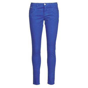 vaatteet Naiset 5-taskuiset housut One Step LE JUDY Sininen