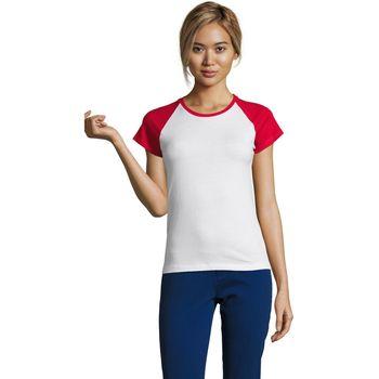 vaatteet Naiset Lyhythihainen t-paita Sols MILKY BICOLOR SPORT Multicolor
