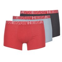 Alusvaatteet Miehet Bokserit Athena BASIC COLOR Black / Bordeaux / Grey