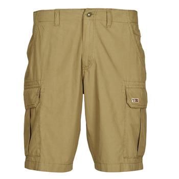 vaatteet Miehet Shortsit / Bermuda-shortsit Napapijri NOTO 4 Kamelinruskea