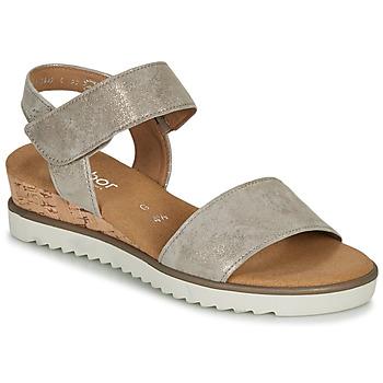 kengät Naiset Sandaalit ja avokkaat Gabor KARIBITOU Kulta