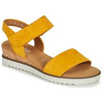 kengät Naiset Sandaalit ja avokkaat Gabor KARIBITOU Keltainen