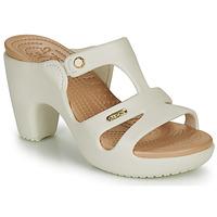 kengät Naiset Sandaalit Crocs CYPRUS V HEEL W White