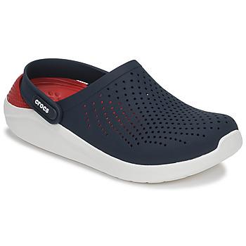 kengät Puukengät Crocs LITERIDE CLOG Laivastonsininen / Punainen