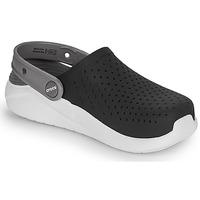 kengät Lapset Puukengät Crocs LITERIDE CLOG K Black / White