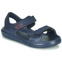 kengät Lapset Sandaalit ja avokkaat Crocs SWIFTWATER EXPEDITION SANDAL K Laivastonsininen