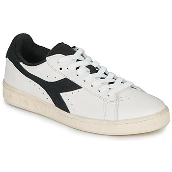 kengät Matalavartiset tennarit Diadora GAME L LOW USED White / Black