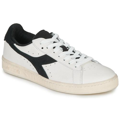 kengät Matalavartiset tennarit Diadora GAME L LOW USED White / Black