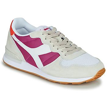 kengät Naiset Matalavartiset tennarit Diadora CAMARO Beige / Pink