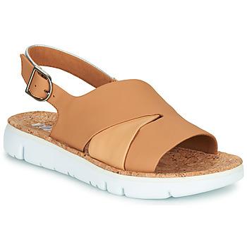 kengät Naiset Sandaalit ja avokkaat Camper TWINS Nude / Valkoinen