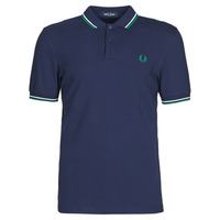 vaatteet Miehet Lyhythihainen poolopaita Fred Perry TWIN TIPPED FRED PERRY SHIRT Blue