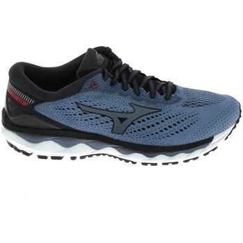 kengät Miehet Juoksukengät / Trail-kengät Mizuno Wave Sky 3 Stone Bleu Sininen