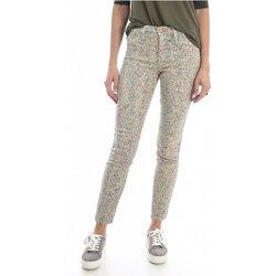 vaatteet Naiset Slim-farkut Mih THE BONN WJ1557POL Beige