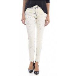 vaatteet Naiset Slim-farkut Mih TH BONN WJ1557L.K Beige