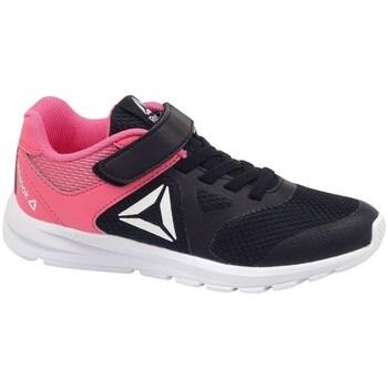 kengät Lapset Matalavartiset tennarit Reebok Sport Rush Runner Mustat, Vaaleanpunaiset