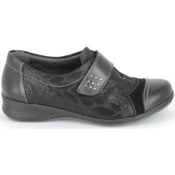 kengät Derby-kengät & Herrainkengät Boissy Derby 7510 Noir Texturé Musta
