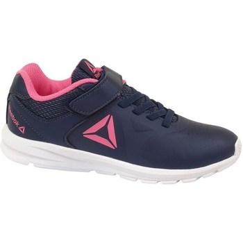kengät Lapset Matalavartiset tennarit Reebok Sport Rush Runner Tummansininen, Vaaleanpunaiset