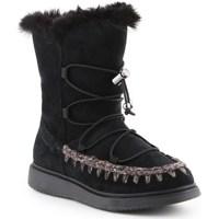 kengät Naiset Saappaat Geox J Thymar GB Mustat