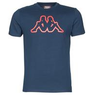 vaatteet Miehet Lyhythihainen t-paita Kappa CROMEN SLIM Blue