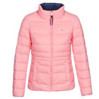 vaatteet Naiset Toppatakki Tommy Jeans MODERN DOWN JKT Vaaleanpunainen