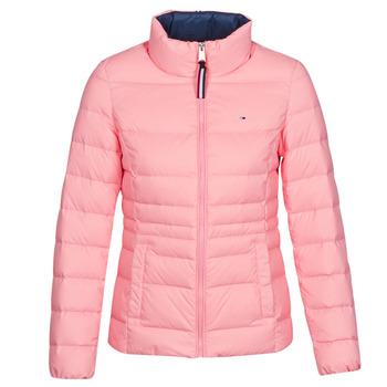 vaatteet Naiset Toppatakki Tommy Jeans MODERN DOWN JKT Pink