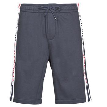 vaatteet Miehet Shortsit / Bermuda-shortsit Tommy Jeans TJM BRANDED TAPE SHORT Laivastonsininen