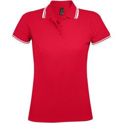 vaatteet Naiset Lyhythihainen poolopaita Sols PASADENA MODERN WOMEN Rojo