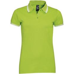 vaatteet Naiset Lyhythihainen poolopaita Sols PASADENA MODERN WOMEN Verde