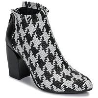 kengät Naiset Nilkkurit Mimmu JESTINE Black / White