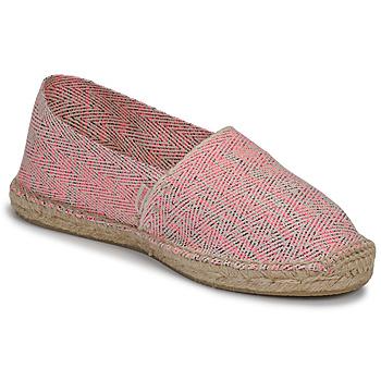 kengät Naiset Espadrillot Pare Gabia VP FLUO Pink / White