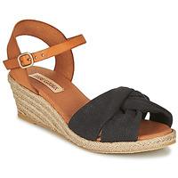 kengät Naiset Sandaalit ja avokkaat Pare Gabia BILMI Black / Brown