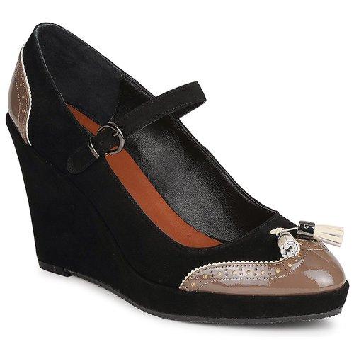 kengät Naiset Korkokengät C.Petula MAGGIE Black