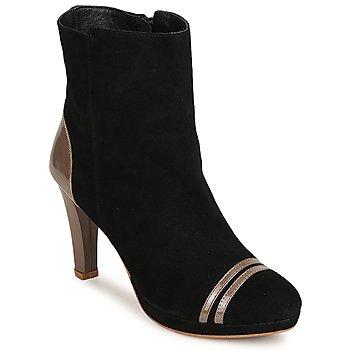 kengät Naiset Nilkkurit C.Petula KIMBER Black