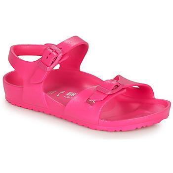kengät Tytöt Sandaalit ja avokkaat Birkenstock RIO EVA Pinkki