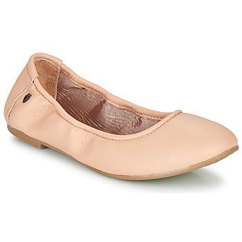 kengät Naiset Balleriinat Minnetonka ANNA Vaaleanpunainen