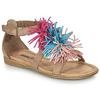 kengät Tytöt Sandaalit ja avokkaat Minnetonka ELOISE Taupe