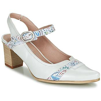 kengät Naiset Korkokengät Dorking LEA White