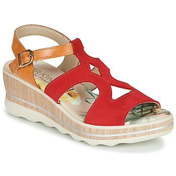 kengät Naiset Sandaalit ja avokkaat Dorking YAP Punainen