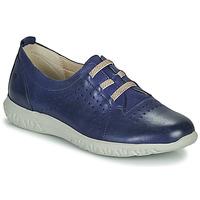 kengät Naiset Matalavartiset tennarit Dorking SILVER Sininen