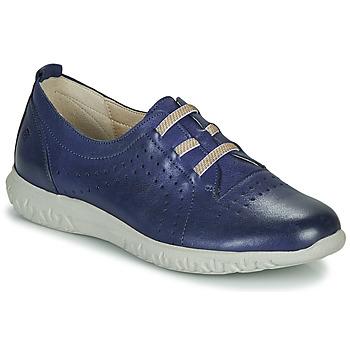 kengät Naiset Matalavartiset tennarit Dorking SILVER Blue