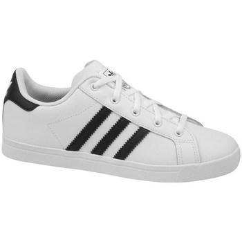 kengät Lapset Derby-kengät & Herrainkengät adidas Originals Coast Star C Valkoiset,Mustat